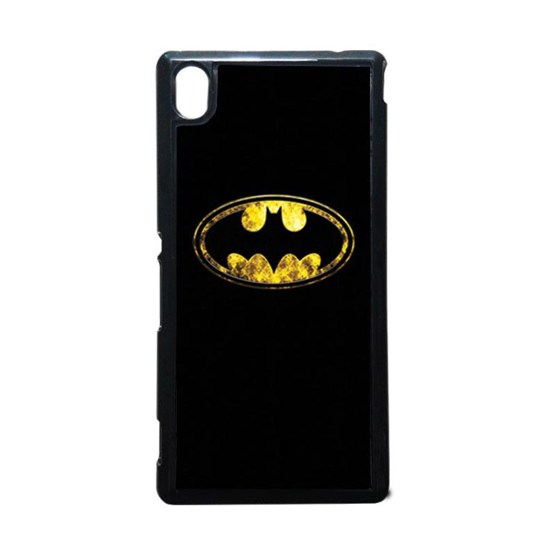 HEAVENCASE Batman 01 Hitam Hardcase Casing Sony Xperia M4 Aqua
