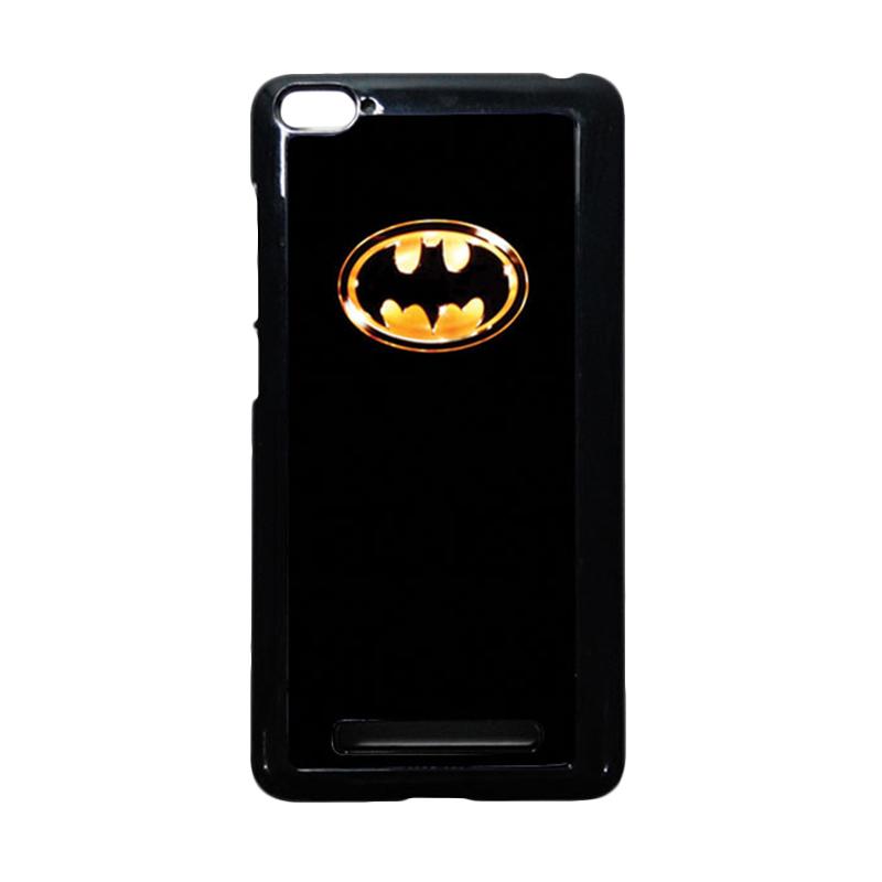 HEAVENCASE Batman 02 Hitam Hardcase Casing or Xiaomi Mi4i or Xiaomi Mi4c