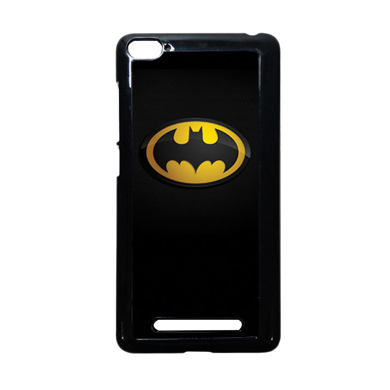 HEAVENCASE Batman 04 Hitam Hardcase Casing or Xiaomi Mi4i or Xiaomi Mi4c