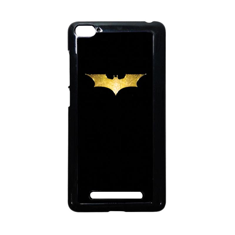 HEAVENCASE Batman 08 Hitam Hardcase Casing or Xiaomi Mi4i or Xiaomi Mi4c