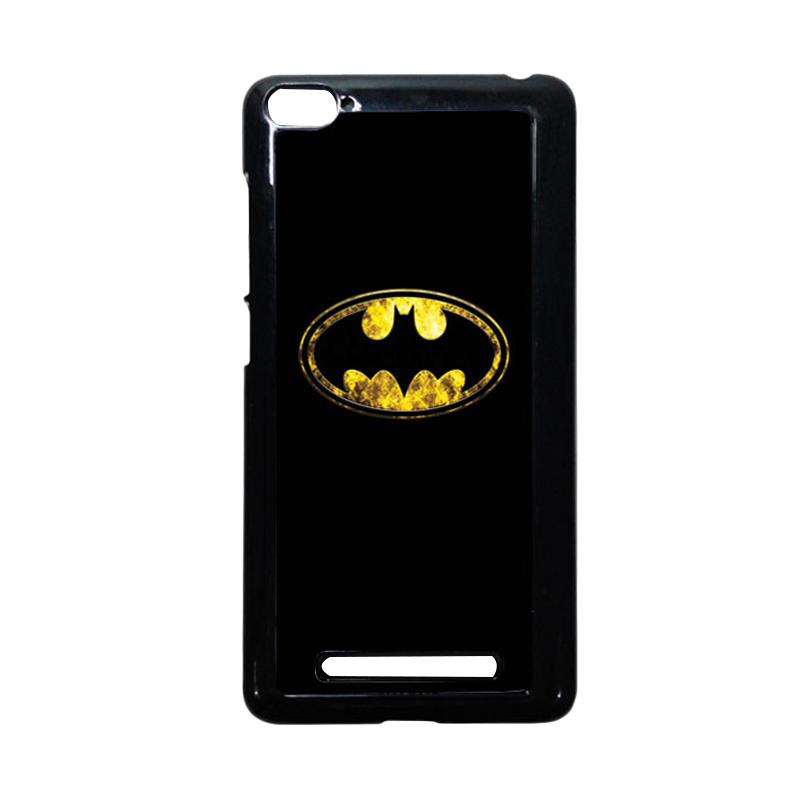 HEAVENCASE Batman 10 Hitam Hardcase Casing or Xiaomi Mi4i or Xiaomi Mi4c