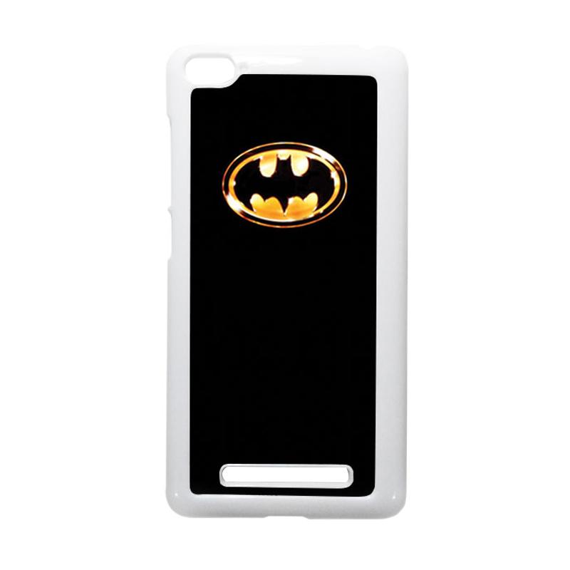 HEAVENCASE Batman 02 Putih Hardcase Casing or Xiaomi Mi4i or Xiaomi Mi4c