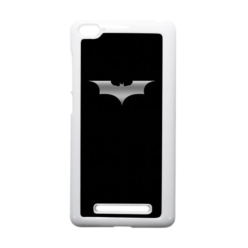 HEAVENCASE Batman 03 Putih Hardcase Casing or Xiaomi Mi4i or Xiaomi Mi4c