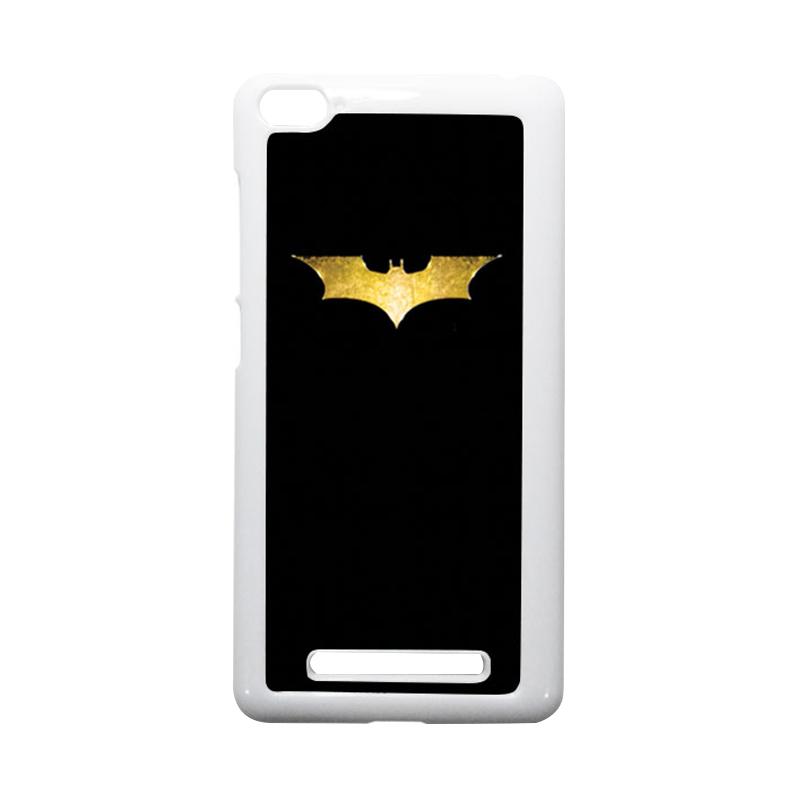 HEAVENCASE Batman 08 Putih Hardcase Casing for Xiaomi Mi4i or Xiaomi Mi4c