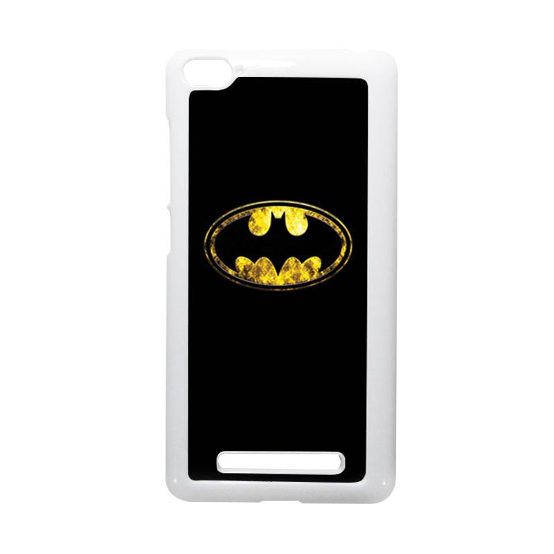 HEAVENCASE Batman 10 Putih Hardcase Casing for Xiaomi Mi4i or Xiaomi Mi4c
