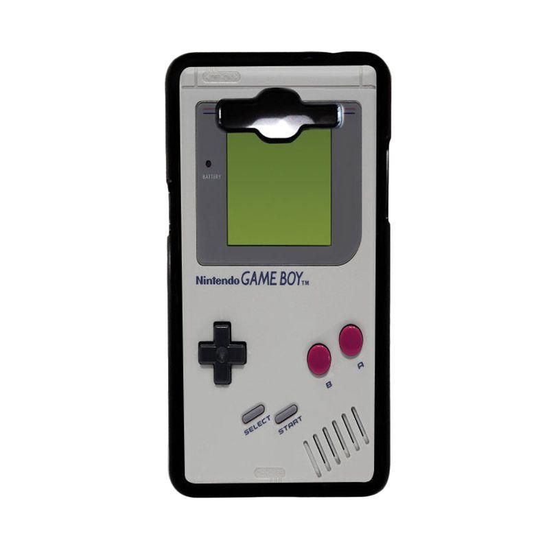 Heavencase Hard Case Nintendo Gameboy 01 Hitam Casing for Samsung Galaxy Grand Prime