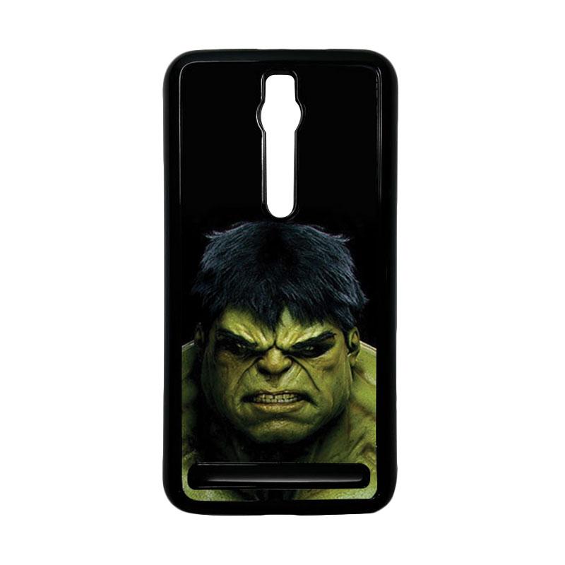 Heavencase Hulk 01 Hardcase Casing for Asus Zenfone 2 ZE551ML or ZE550ML - Hitam