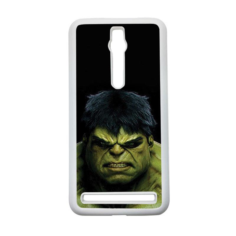 HEAVENCASE Hulk 01 Hardcase Casing for Asus Zenfone 2 ZE551ML or ZE550ML - Putih