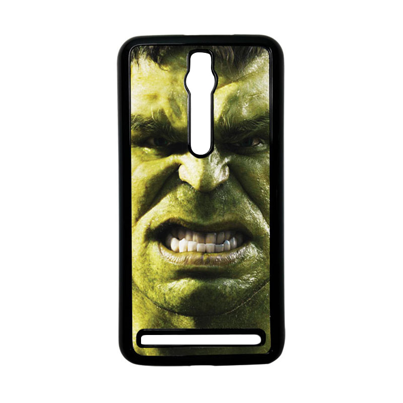Heavencase Hulk 02 Hardcase Casing for Asus Zenfone 2 ZE551ML or ZE550ML - Hitam