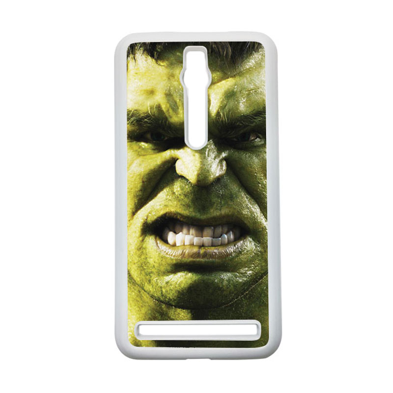 HEAVENCASE Hulk 02 Hardcase Casing for Asus Zenfone 2 ZE551ML or ZE550ML - Putih