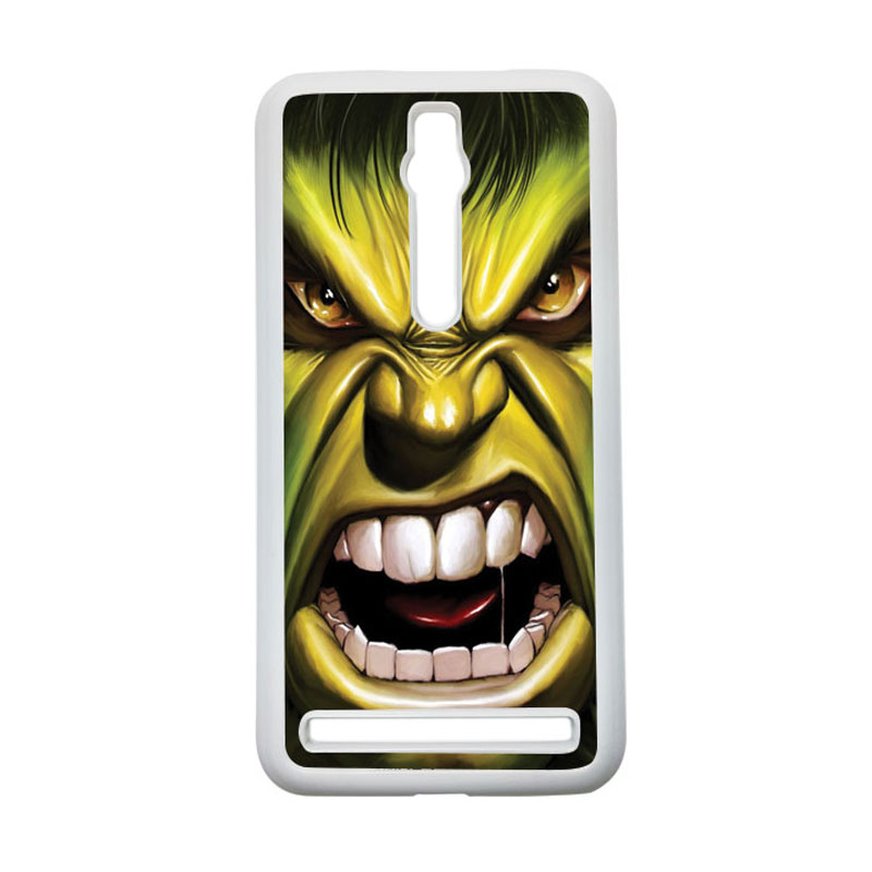 HEAVENCASE Hulk 03 Hardcase Casing for Asus Zenfone 2 ZE551ML or ZE550ML - Putih