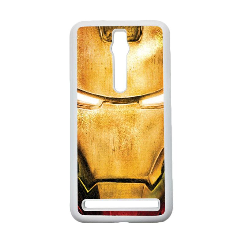 Heavencase Ironman 02 Hardcase Casing for Asus Zenfone 2 ZE551ML or ZE550ML - Putih