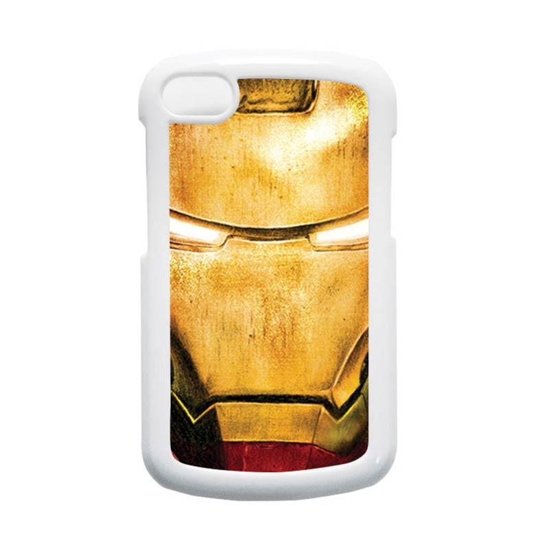 HEAVENCASE Ironman 02 Putih Hardcase Casing for Blackberry Q10