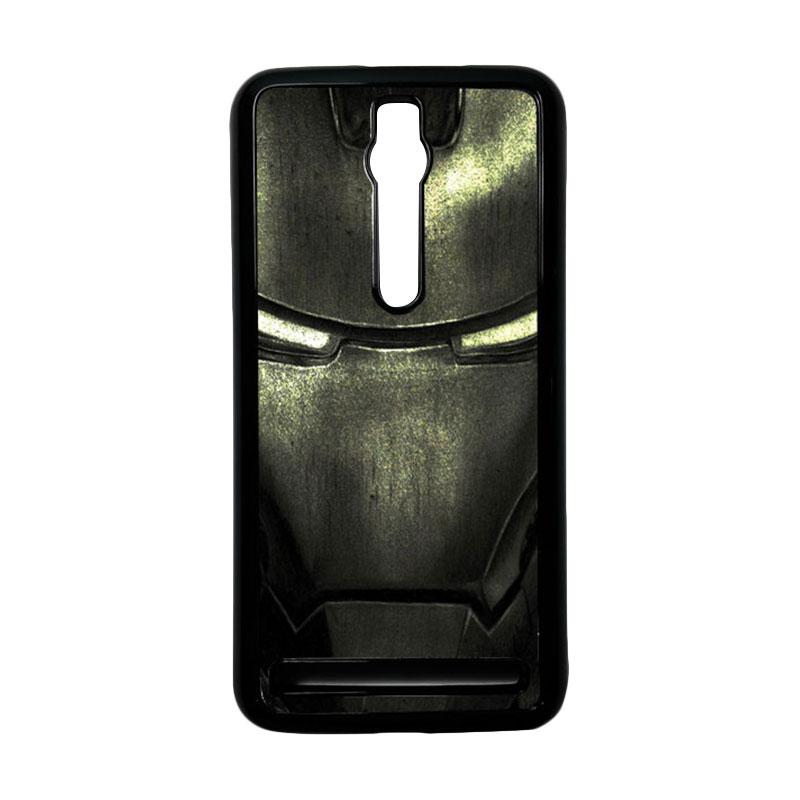 Heavencase Ironman 03 Hardcase Casing for Asus Zenfone 2 ZE551ML or ZE550ML - Hitam