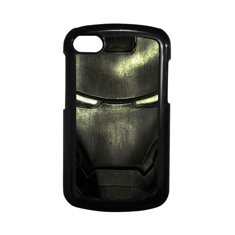 HEAVENCASE Ironman 03 Hitam Hardcase Casing for Blackberry Q10