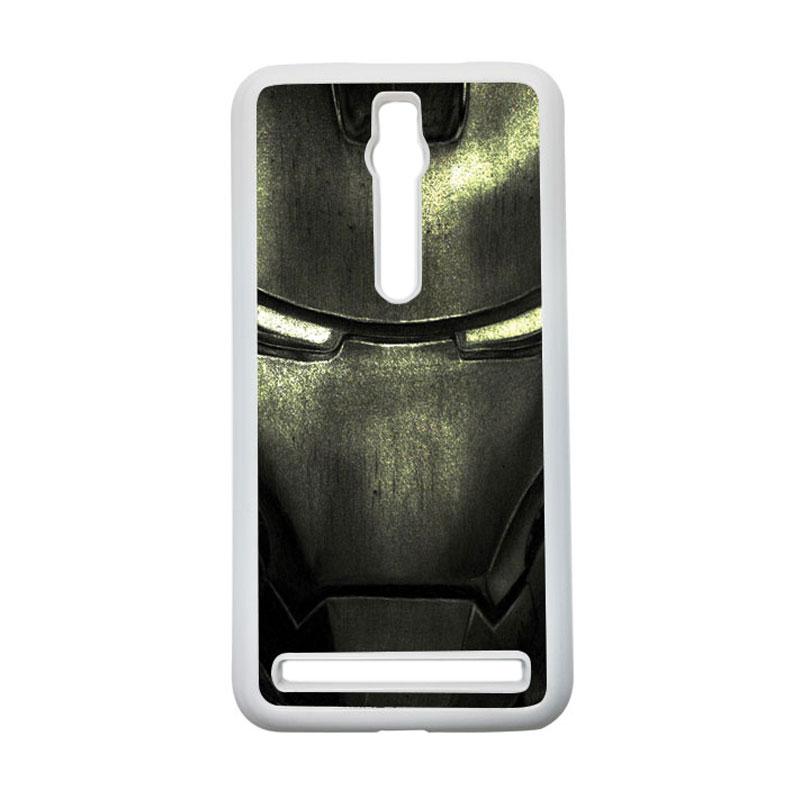 HEAVENCASE Ironman 03 Hardcase Casing for Asus Zenfone 2 ZE551ML or ZE550ML - Putih