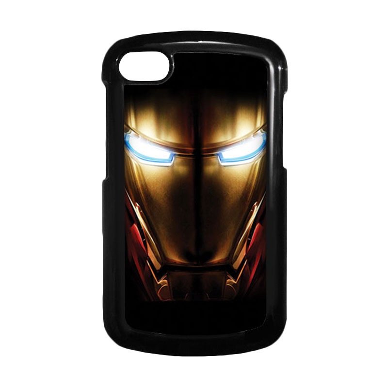 HEAVENCASE Ironman 04 Hitam Hardcase Casing for Blackberry Q10