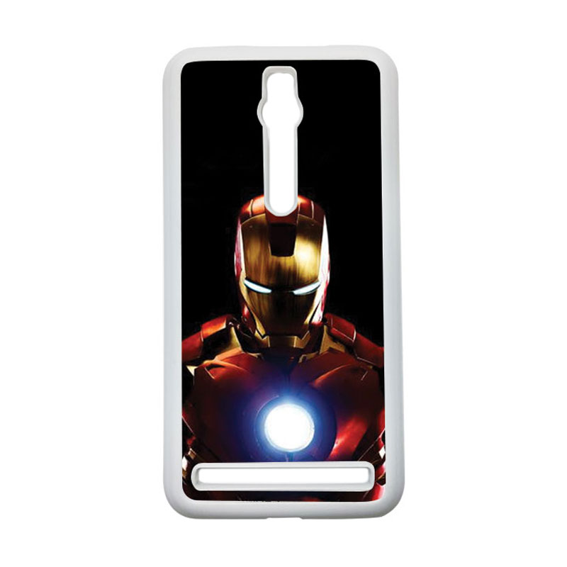 HEAVENCASE Ironman 05 Hardcase Casing for Asus Zenfone 2 ZE551ML or ZE550ML - Putih