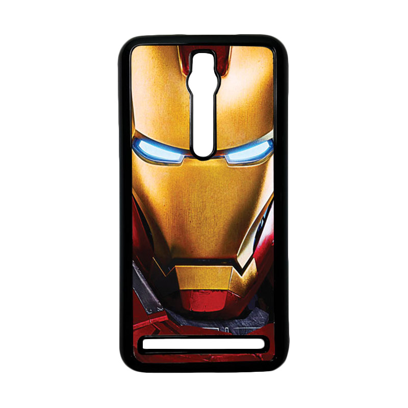 Heavencase Ironman 07 Hardcase Casing for Asus Zenfone 2 ZE551ML or ZE550ML - Hitam