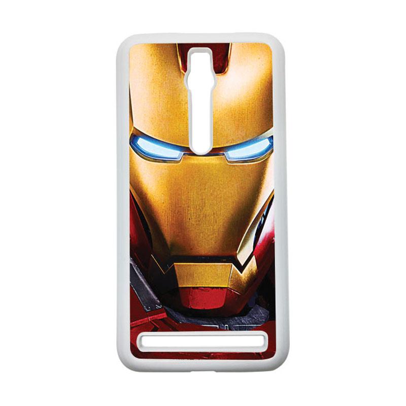 HEAVENCASE Ironman 07 Hardcase Casing for Asus Zenfone 2 ZE551ML or ZE550ML - Putih