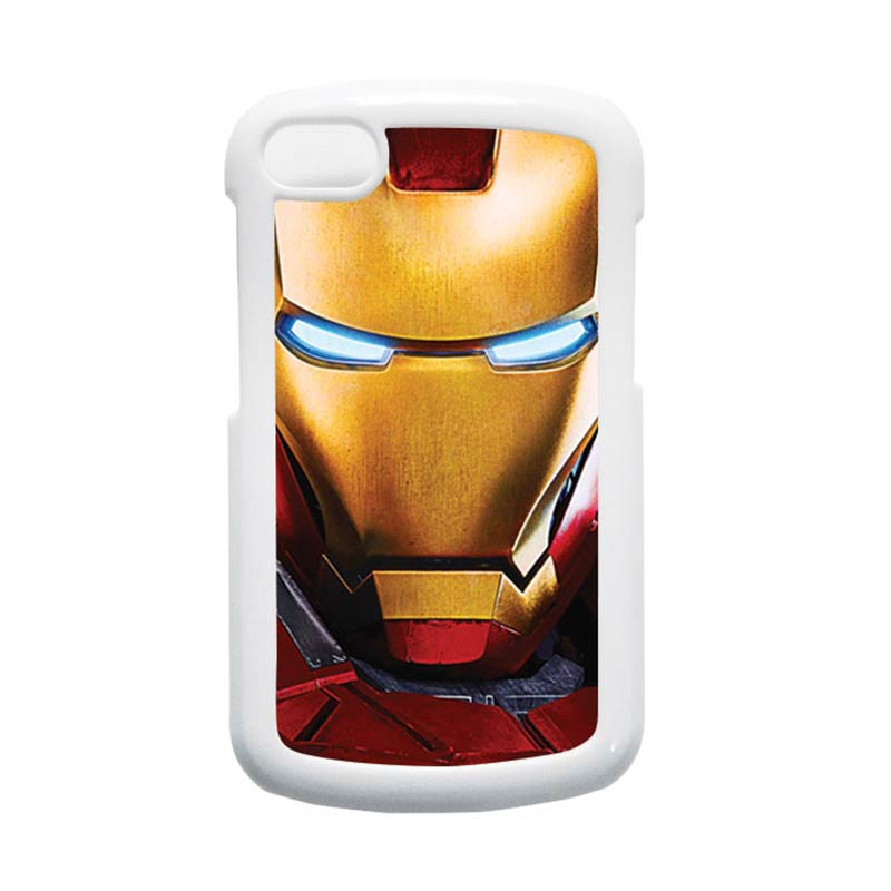 HEAVENCASE Ironman 07 Putih Hardcase Casing for Blackberry Q10