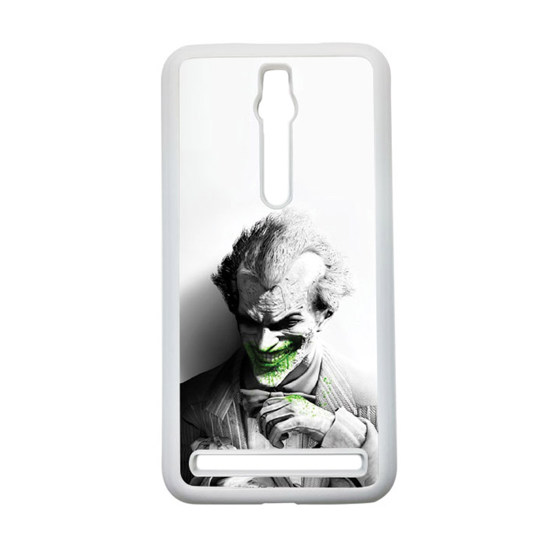HEAVENCASE Joker 01 Hardcase Casing for Asus Zenfone 2 Ze551ml or Ze550ml - Putih