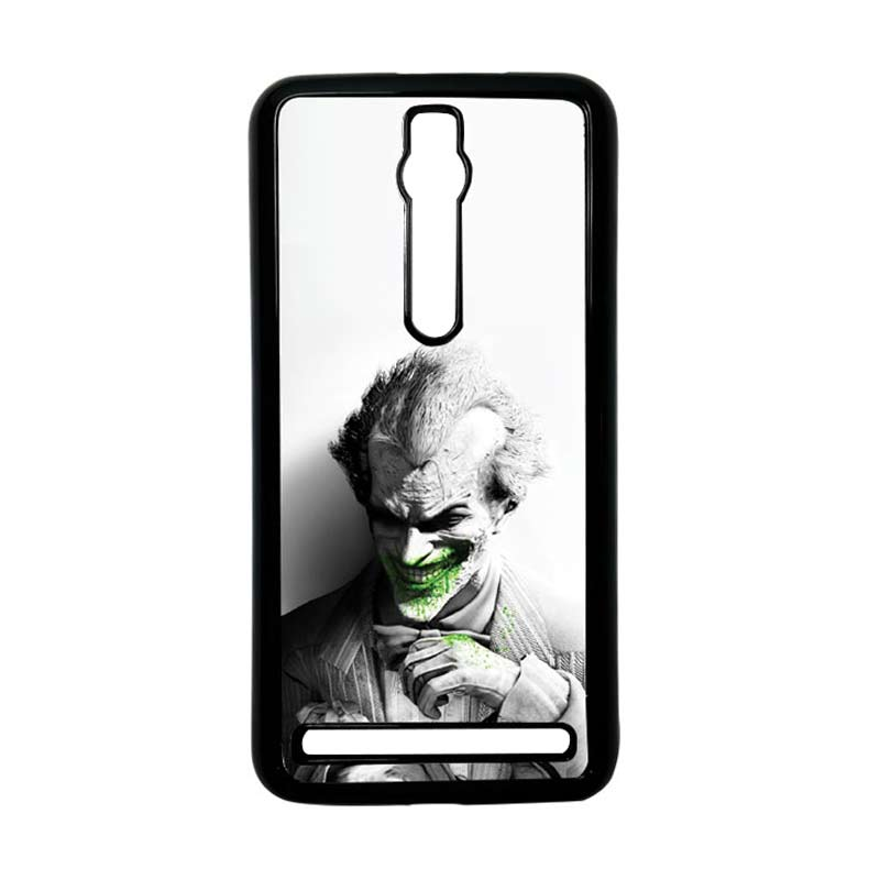 Heavencase Joker 01 Hitam Hardcase Casing for Asus Zenfone 2 Ze551ml or Ze550ml