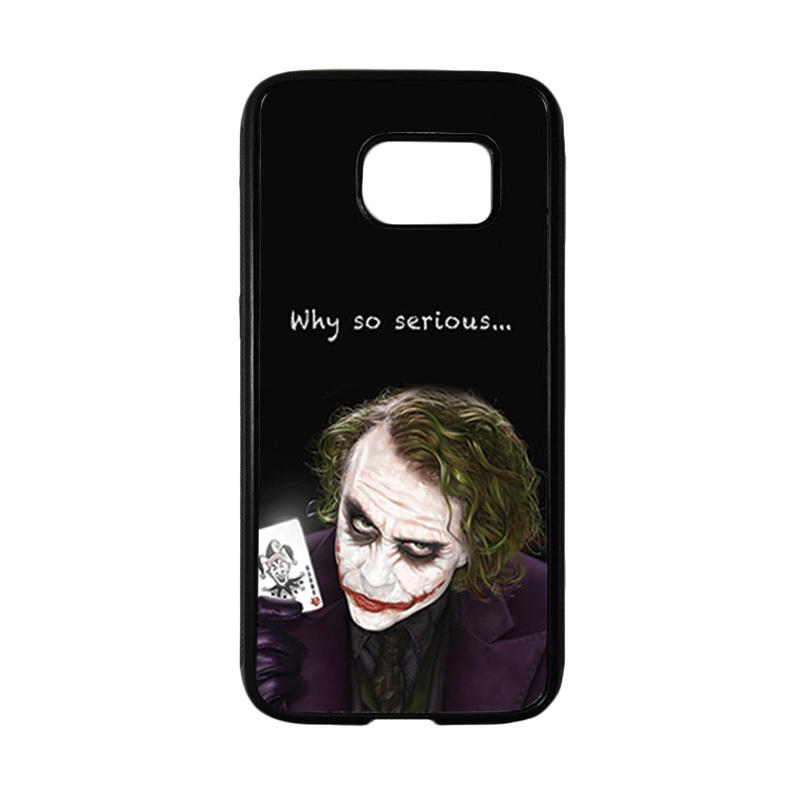 HEAVENCASE Joker 03 Casing for Samsung Galaxy S7 - Hitam