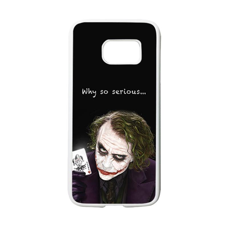 HEAVENCASE Joker 03 Casing for Samsung Galaxy S7 - Putih