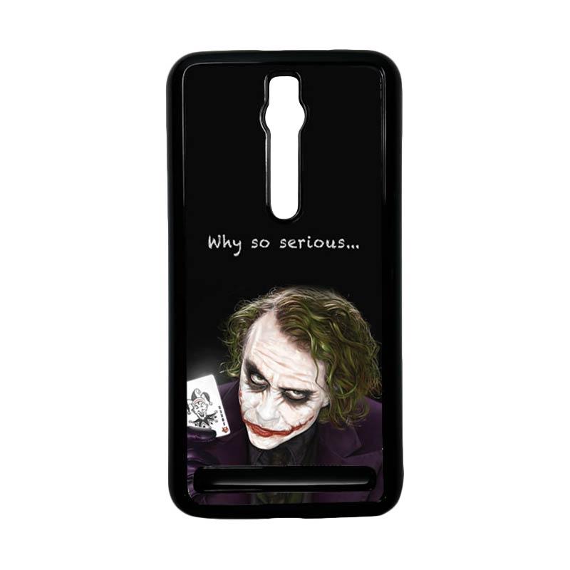 Heavencase Joker 03 Hardcase Casing for Asus Zenfone 2 ZE551ML or ZE550ML - Hitam