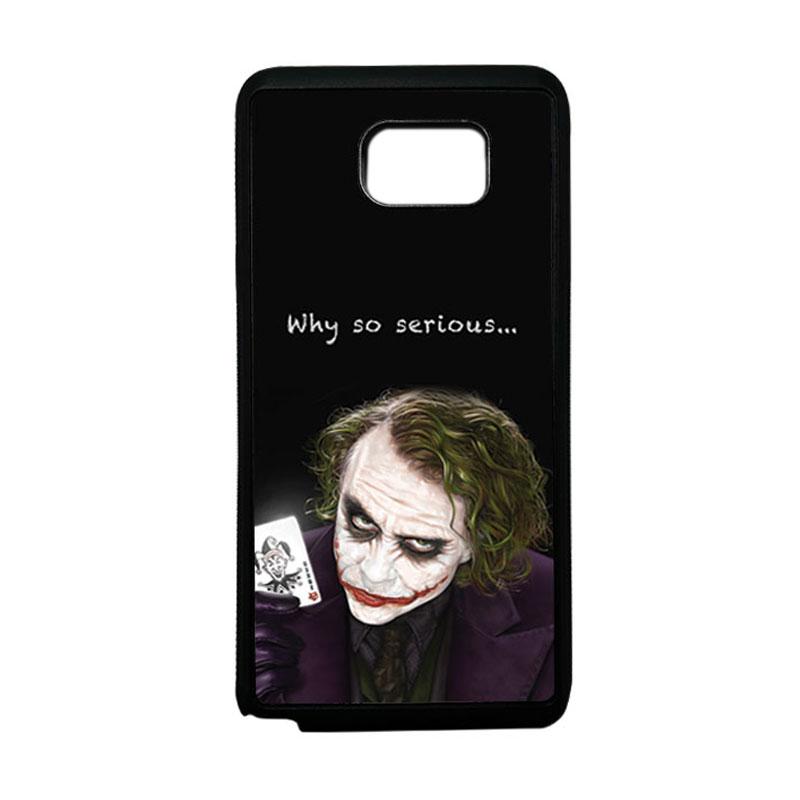 HEAVENCASE Joker 03 Softcase Bumper TPU Casing for Samsung Galaxy Note 5 - Hitam