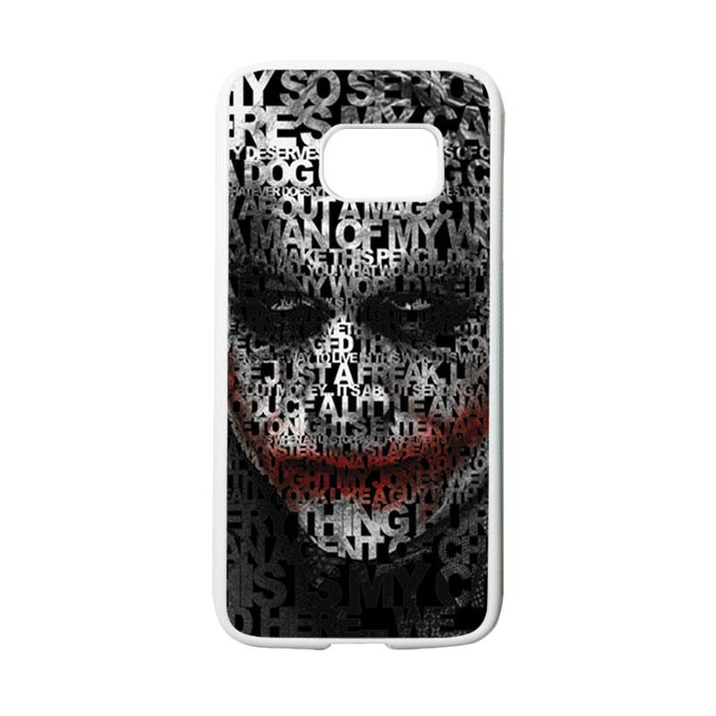 HEAVENCASE Joker 04 Casing for Samsung Galaxy S7 - Putih