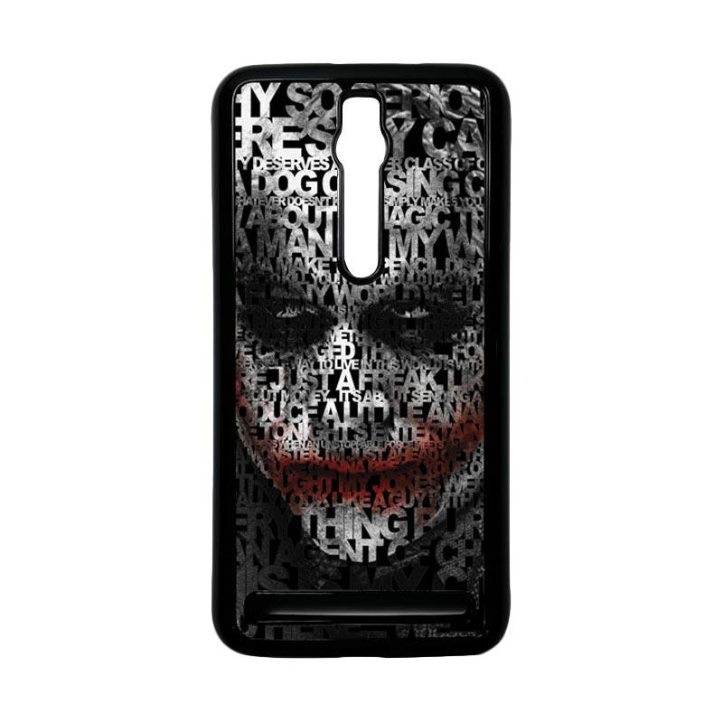 Heavencase Joker 04 Hardcase Casing for Asus Zenfone 2 ZE551ML or ZE550ML - Hitam