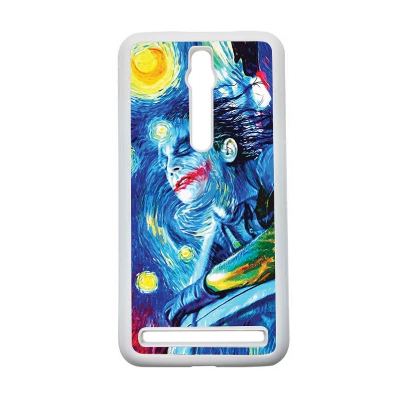 HEAVENCASE Joker 05 Hardcase Casing for Asus Zenfone 2 Ze551ml or Ze550ml - Putih
