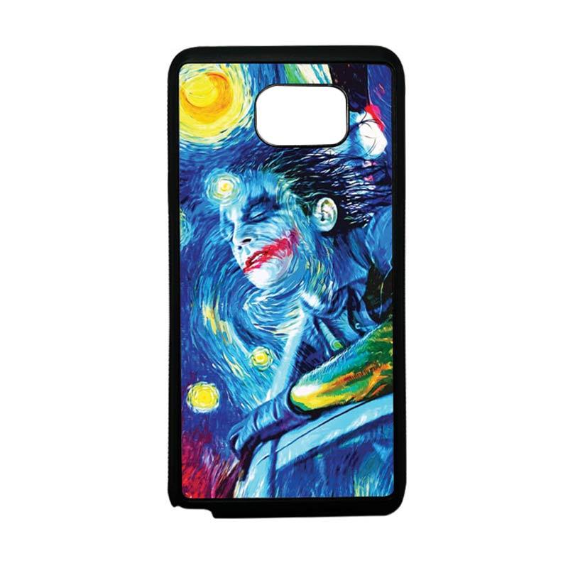 HEAVENCASE Joker 05 Softcase Bumper TPU Casing for Samsung Galaxy Note 5 - Hitam