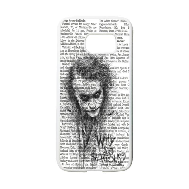 HEAVENCASE Joker 06 Casing for Samsung Galaxy S7 - Putih