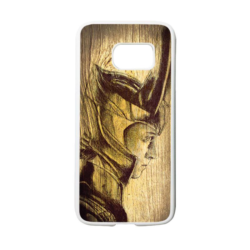 HEAVENCASE Loki 02 Casing for Samsung Galaxy S7 - Putih