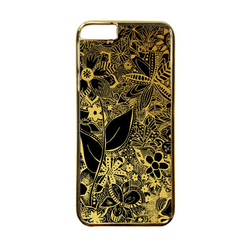 Heavencase Motif Apple Gold 07 Casing for iPhone 6 or iPhone 6s - Gold