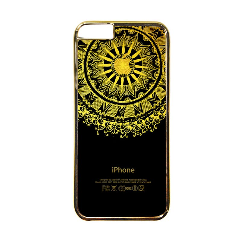 Heavencase Motif Apple Gold 10 Casing for iPhone 6 or iPhone 6s - Gold