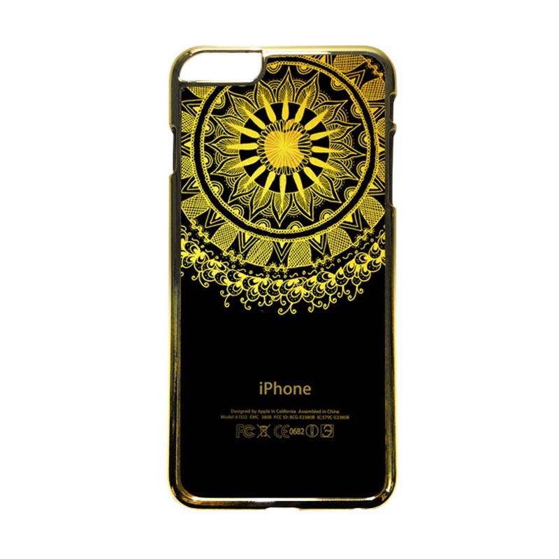 HEAVENCASE Motif Apple Gold 10 Casing iPhone 6 Plus or iPhone 6s Plus - Emas