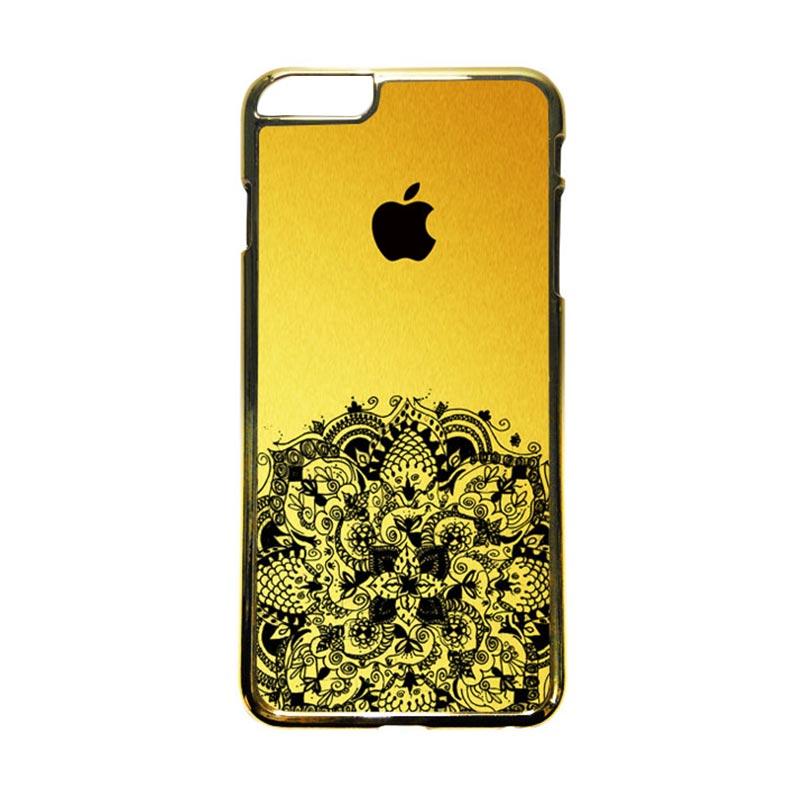 HEAVENCASE Motif Apple Gold 12 Casing iPhone 6 Plus or iPhone 6s Plus - Emas