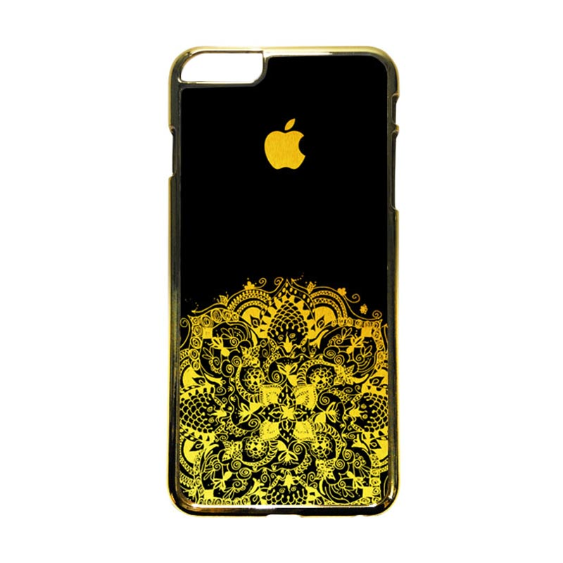 HEAVENCASE Motif Apple Gold 13 Casing iPhone 6 Plus or iPhone 6s Plus - Emas