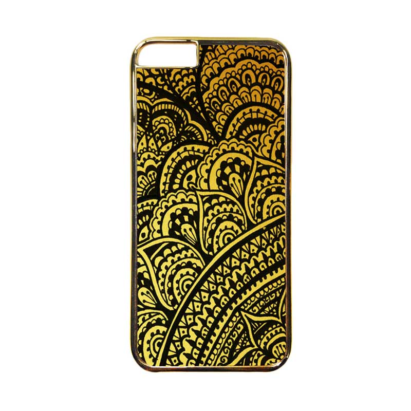 HEAVENCASE Motif Apple Gold 18 Casing for iPhone 6 or iPhone 6s - Emas