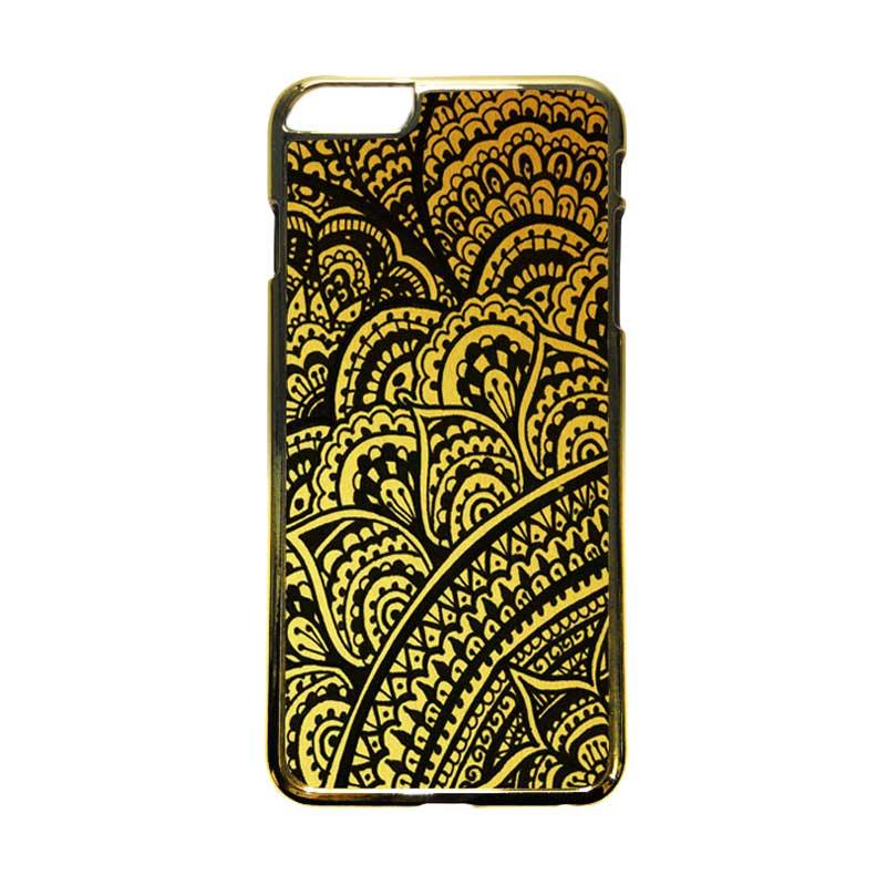 HEAVENCASE Motif Apple Gold 18 Casing for iPhone 6 Plus or iPhone 6s Plus - Emas