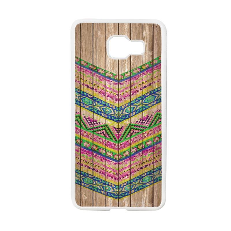 harga HEAVENCASE Motif Batik Kayu Chevron 14 Softcase TPU Bumper Casing for Samsung Galaxy A5 2016 Or Samsung Galaxy A510 - Putih Blibli.com