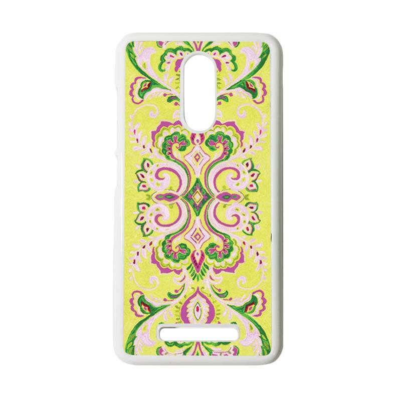 Heavencase Motif Batik Kayu Tribal 15 Putih Hardcase Casing for Xiaomi Redmi Note 3