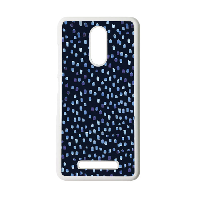 HEAVENCASE Motif Batik Kayu Tribal 16 Putih Hardcase Casing for Xiaomi Redmi Note 3