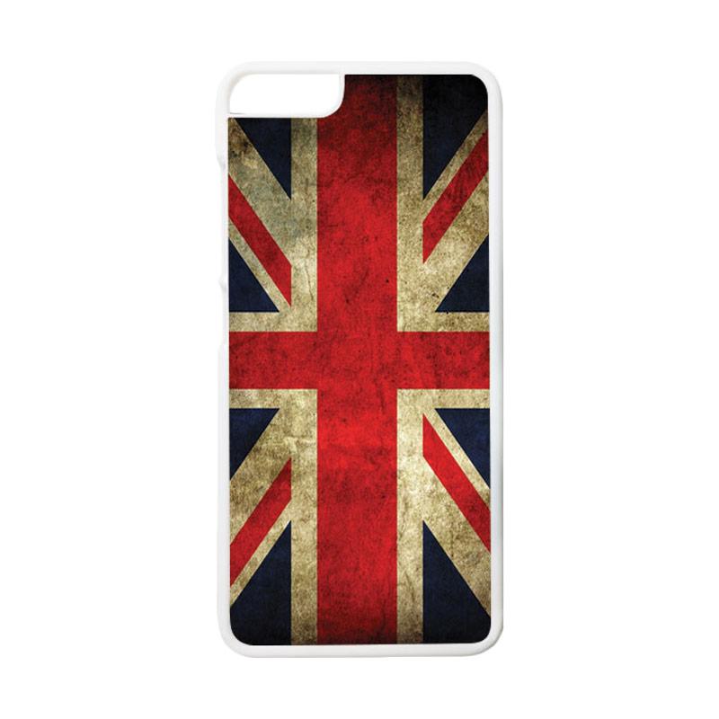 Jual HEAVENCASE Motif Bendera Inggris Hardcase Casing for Xiaomi Mi 5 - Putih Online