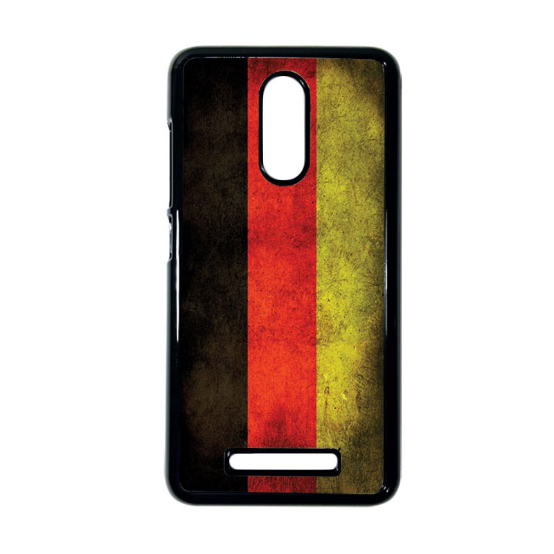 HEAVENCASE Motif Bendera Jerman Casing for Xiaomi Redmi Note 3 - Hitam
