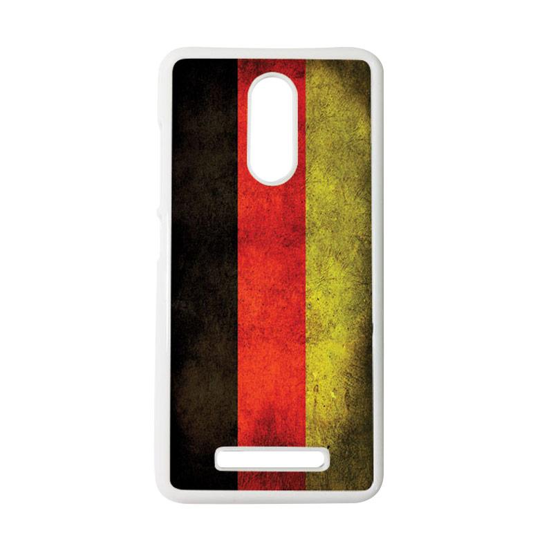 HEAVENCASE Motif Bendera Jerman Casing for Xiaomi Redmi Note 3 - Putih